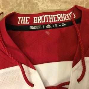 adidas Shirts - ADIDAS MIAMI of OHIO University RedHawks Jersey 8b25349bb
